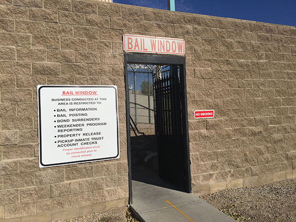 Las Vegas Detention Center Bail Window