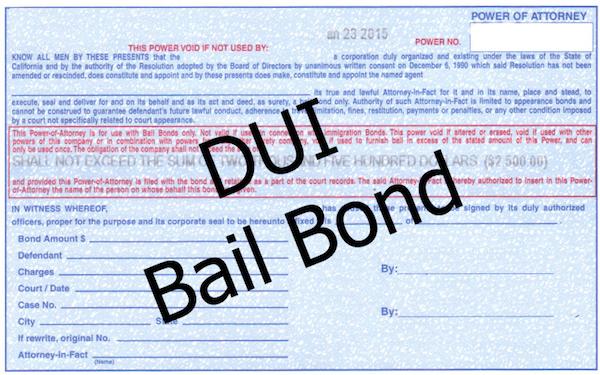 DUI Bail Bondsman in Las Vegas