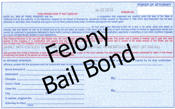 Felony Bail Bonds in Las Vegas Nevada